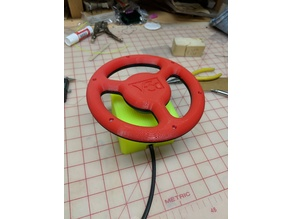 Arcade Spinner Steering Wheel Attachement
