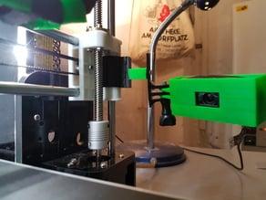 Webcam Holder for Anet A8 - Logitech C525 (adjustable)