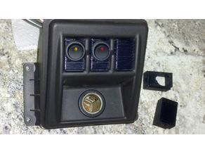 Jeep TJ Wrangler Console Switch Blank