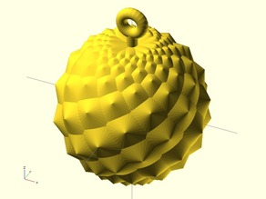 Fibonacci Ball (cones)