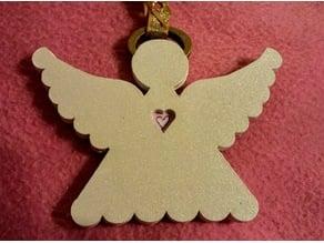 Lasercut Angel Ornaments