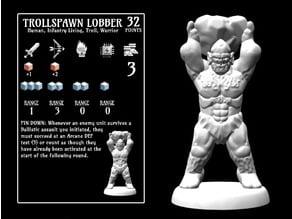 Trollspawn Lobber (18mm scale)