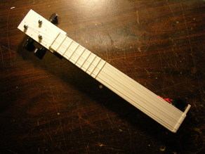 Electroacoustic mini-sitar