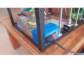 Cubre fuente y soporte con ficha alimentaciòn P905