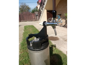 Cornelius keg portable tap