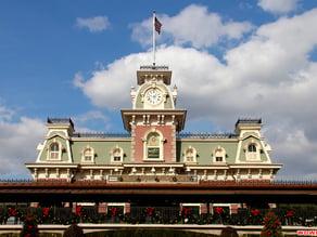 Main Street U.S.A Train Station (Entrance to The Magic Kingdom)