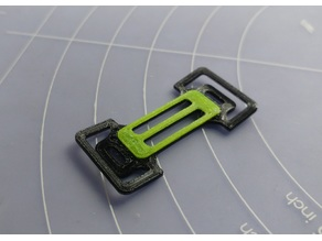 Toothpick frame simple battery mount