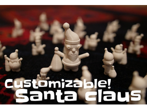 Customizable Santa Claus (random also!)