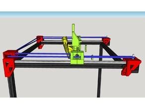CoreXY Linear Rail system