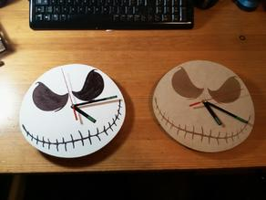 Jack Skellington Clocks