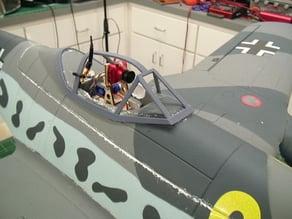 Dynam ME262 Cockpit Frame with FPV Pan and Tilt mount