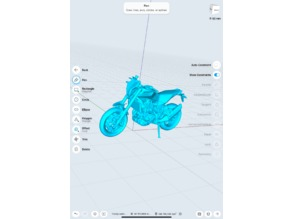 Husqvarna NUDA 900R - 3D Scan low poly