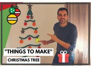 Wall Christmas tree // Árbol de navidad para pared