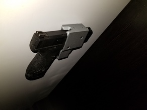 Hide Mount Holster for S&W M&P SHIELD