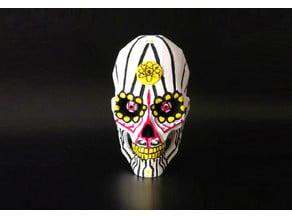 Aspartame Skull