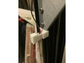 Led light strip mount on printer