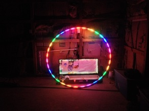 Led Cyr Wheel Cuff v3