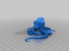 My Customized Plastic Reef #2: Random Octopus Generator
