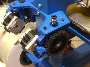 Accessible Wade's Extruder for Hobbed Gear slightly improved