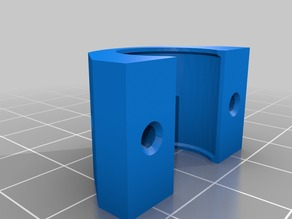 Prusa i3 MK3: LM8UU bearings holder clips for Y-axis (bed)