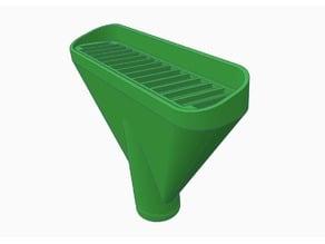 gravel nozzle for a pond vacuum / Kiesdüse für einen Teichsauger