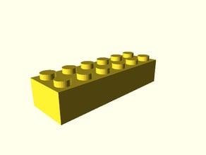 Adjustable-tolerance LEGO-compatible brick customizer