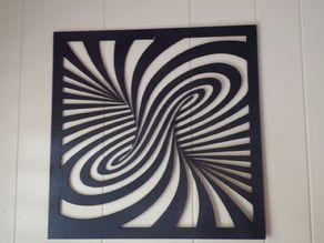Laser cut Twirl