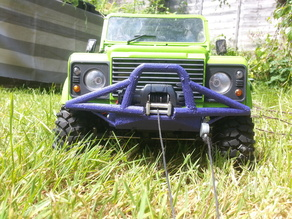 Tubular Winch Bumper for RC 1/10th