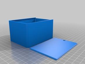 Caja con tapa - 100x75x55