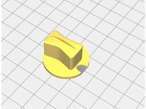 Formula style knob for rotary encoders