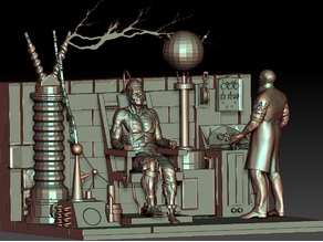 Frankenstein Diorama