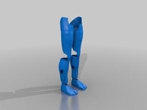 Inmoov Standing Legs version 1
