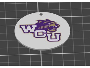 MMU Catamount Keychain (Western Carolina University)