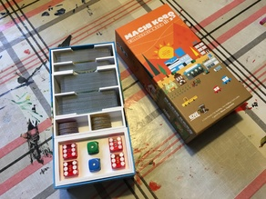 Machi Koro to Machi Koro: Bright Lights, Big City Conversion Compact (Expansion) Box Insert