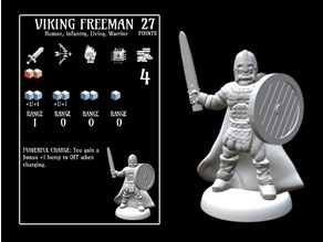 Viking Freeman (18mm scale)