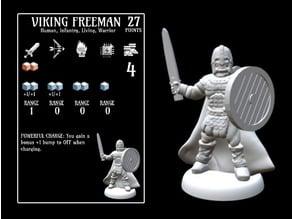 Viking Freeman (18mm scale)