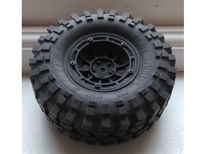 "1.9"" RC Beadlock Wheel - Vector Style"