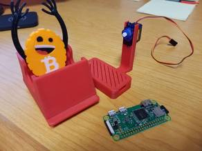 Bitcoin Rollercoaster Guy Base (Raspberry Pi)