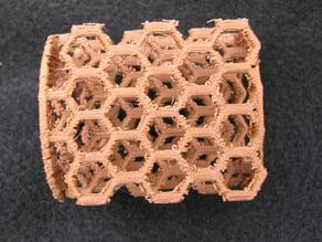 graphite lattice model