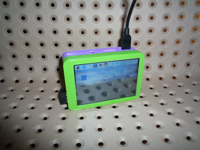 "Raspberry case with 3.5"" tft display (waveshare)"
