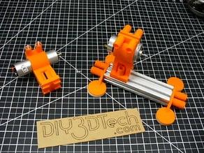 Mabuchi 555 and Drill Motor Mounts to 20x40 V-Slot!
