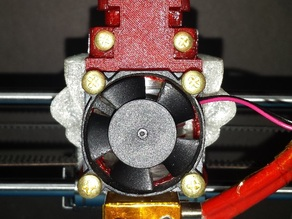 WINOMO 's support with cooling duct, for Rappy Sharebot