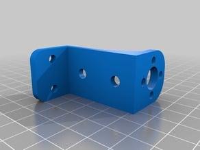 Inverted Z gantry holder for tevo 40x20