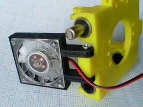 VGA fan mount for x-carriage