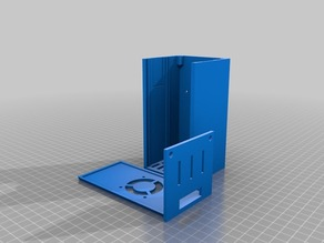 RAMPS 1.4 enclosure for i3 single sheet frame.