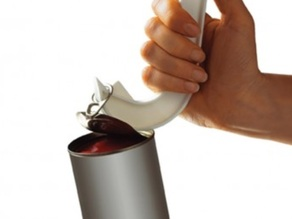 Ring-pull opener for people with hands disabilities