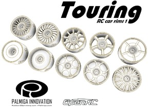 Touring RC Car rims  1