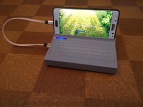 Power bank housing with phone stand