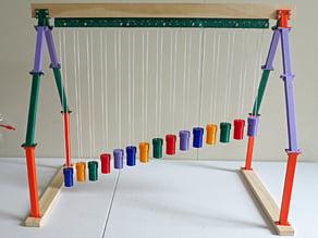 Wave Pendulum via 3D printing