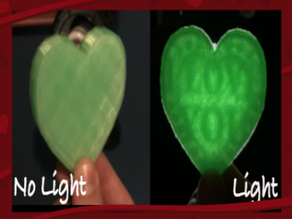 Transparent Heart - Infill Magic